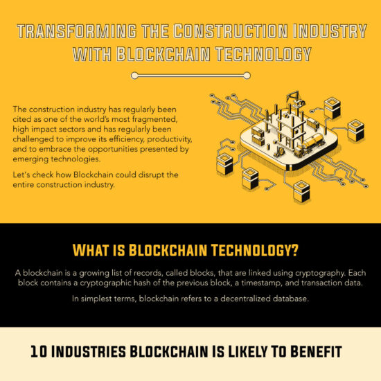 Transforming the Construction Industry with Blockchain Technology