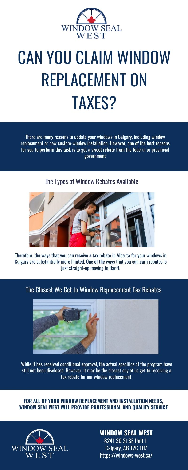 Can You Claim Window Replacement on Taxes?