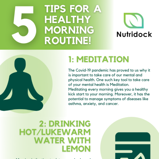 5 Tips For A Healthy Morning Routine! (2)