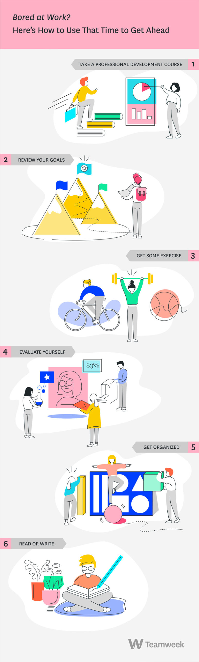 bored at work infographic