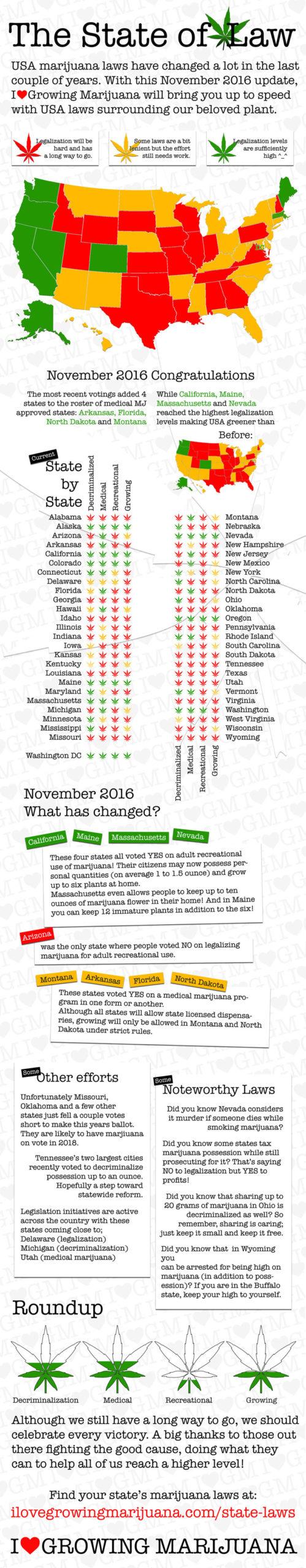 marijuana law us infographic