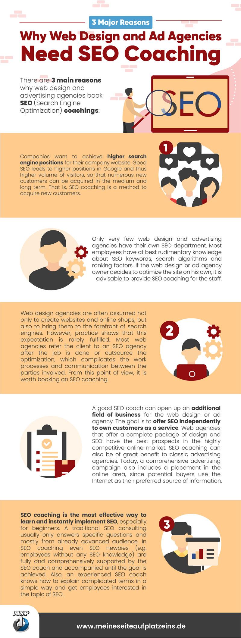 why web design ad agencies need seo coaching