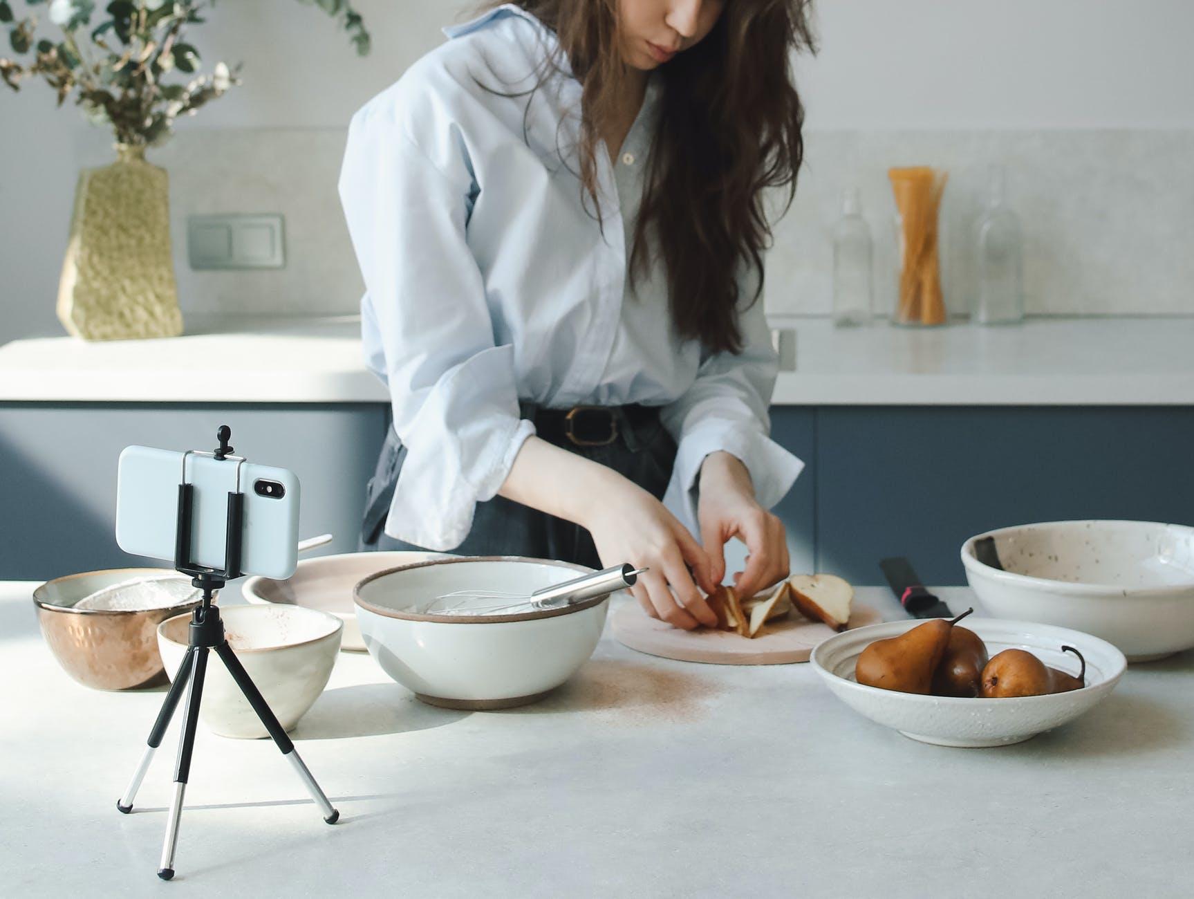 Preparing for food blogs