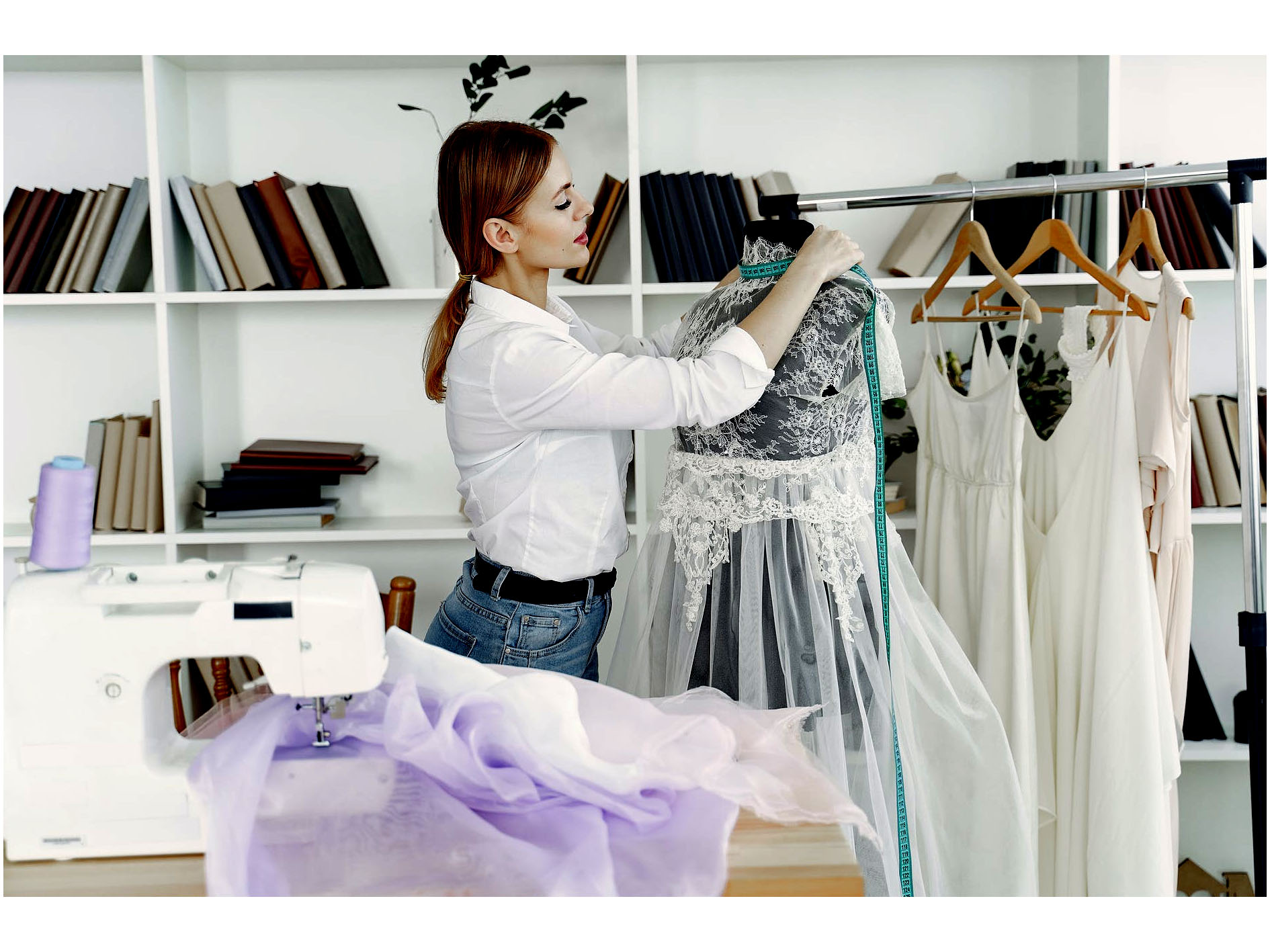 Organizing the gown